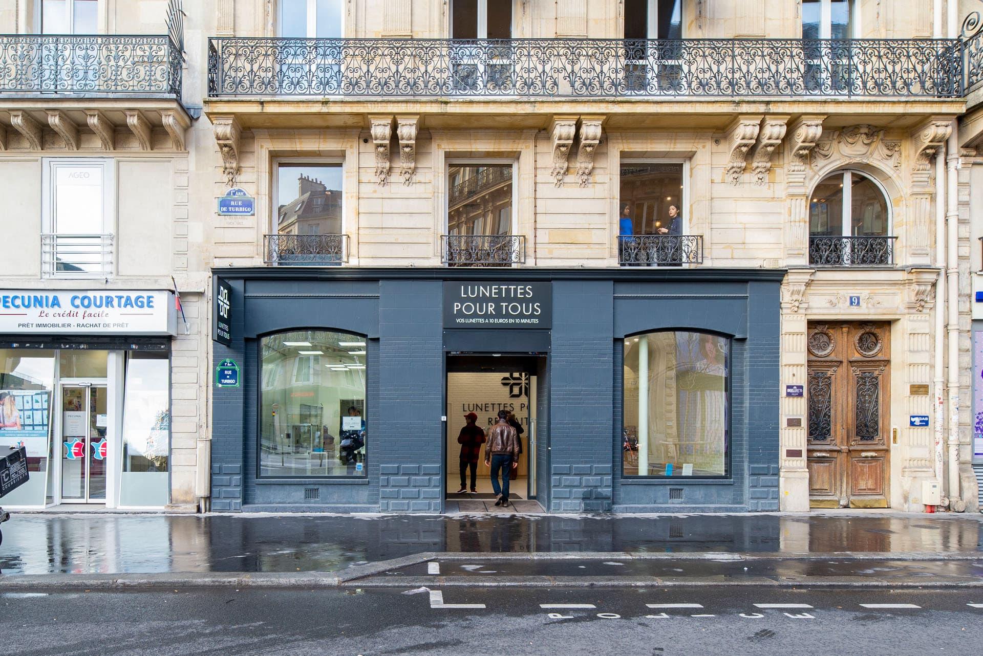 en ligne à la vente remise spéciale de rechercher l'original Magasin de Paris Turbigo - Lunettes Pour Tous